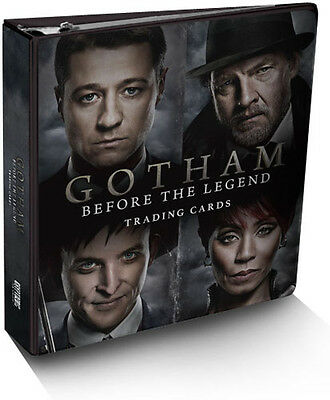 Gotham Season 1 Trading Card Binder Album with Exclusive Costume Card