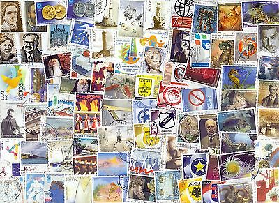 Greece Very Big Lot All Different 270  Euro .  Used Stamps Only In Euro