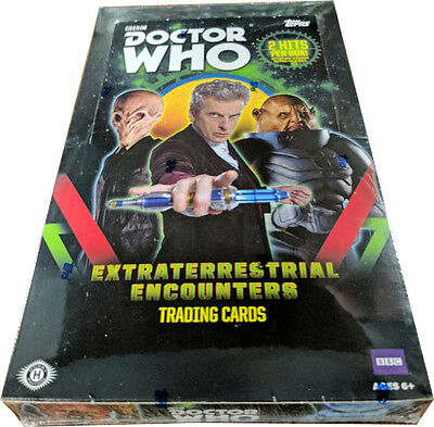 Doctor Who Extraterrestrial Encounters Factory Sealed Trading Card Hobby Box