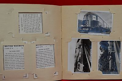 1938 British Railways Complete Set Of 48 Senior Service Cards!!