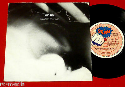 "THE CURE -Charlotte Sometimes- Rare orig. New Zealand STUNN 7"" +Pic sleeve"