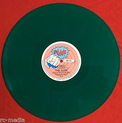 THE CURE -A Forest- 1st Pressing New Zealand 6:42 Long version Green Vinyl 12""
