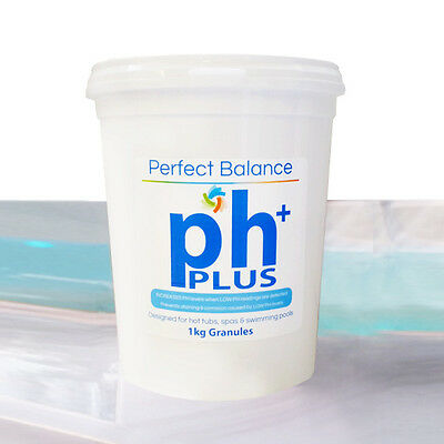 Hot Tub Suppliers 1kg pH Increaser Hot Tub Cleaning Chemicals Free P&P