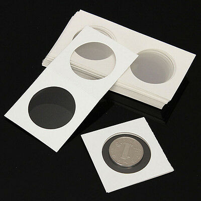 50X Stamp Coin Holders Cover Case Storage FG