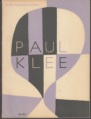 Paul Klee Paintings Drawings Prints MOMA exhibition catalog 1949