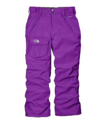 North Face Freedom Insulated Pants Girls  Snow Pants AZEV-D1S Pixie Purple SZ-L