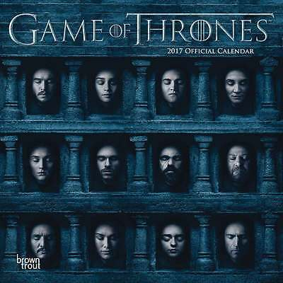 Game of Thrones Calendar 2017 Entertainment Wall Calendar Month View