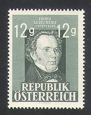 Austria 1947 Schubert/Music/Composer/People 1v (n34730)