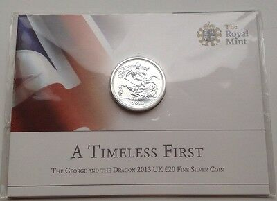 Silver Royal Mint £20 Coin