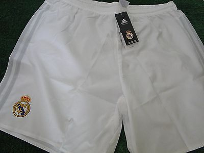 Real Madrid Football Shorts Home 2015-16 Size Large And Extra Large Bnwt