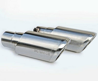 Twin EXHAUST TAIL PIPE Tips for Range Rover Sport End Stainless Steel Trims