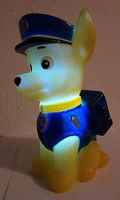 Paw Patrol Colour Changing Night Light : Chase