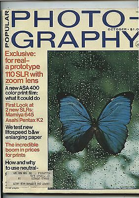 Old Octoberl 1975 Popular Photography Magazine