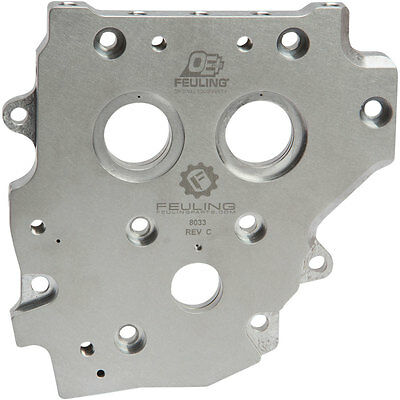 Feuling OE+ Cam Plate for Gear/Chain Cams on 2006-2016 Harley Dyna Twin Cam