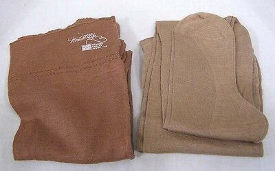 Vintage LOT Womens Hosiery 2 Pair Stearns Thread of Life 1940s