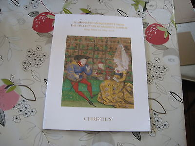Christies Catalogue Illuminated Manuscripts From The Collection  Maurice Burrus
