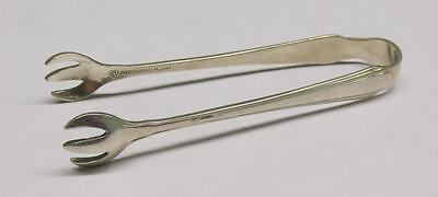 Vintage Sterling Silver Sugar Cube Tongs ~ 20.4 grams ~ 4-D186