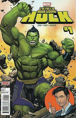 Totally Awesome Hulk #1 (NM)`16 Pak/ Cho  (Cover A)