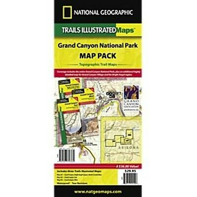 National Geographic Map - Grand Canyon Map Pack