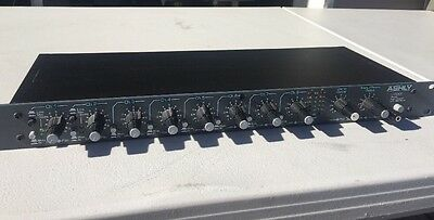 ASHLY Audio Inc. LX308 eight channel mic/line audio mixer- lightly used