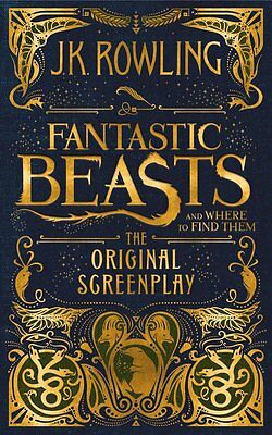 Fantastic Beasts and Where to Find Them :The Original Screenplay - sent wordwide