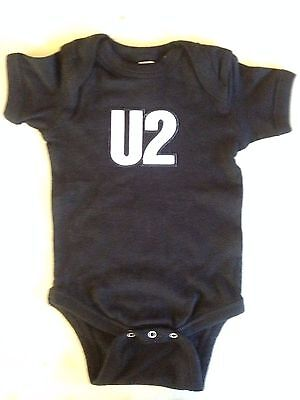 U2 Baby One Piece Creeper Rock T-Shirt  New Bono The Edge Larry Adam