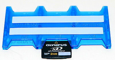 Memory Card Xd Olympus Xd Picture Card  M+ 2Gb + Porta Schede