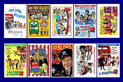 On The Buses - Film  -  Movie Poster Postcard Set (1)