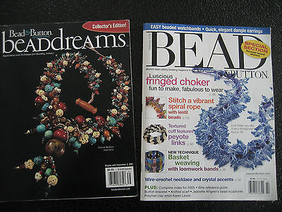 Bead & Button Special Edition Magazines,  2003 & 2006