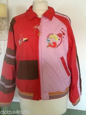 Oilily Girls Coat Pirates And Mermaids Size 152 Age 12 Years