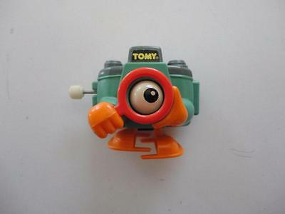 Tomy 1970s/1980s Walking Wind Up Space One Eye Camera Robot Miniature RARE!