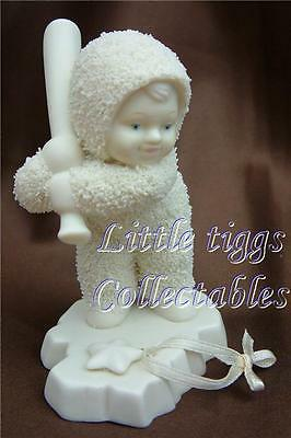 Snowbabies Batter Up. From the Starlight Games Collection New & Boxed