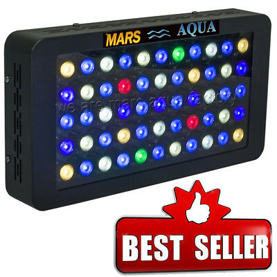 165W MarsAqua Dimmable LED Aquarium Light Full Spectrum Coral Reef Tank Marine