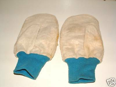 Vintage: Work Gloves..2 sided Thumbs