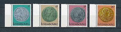 Luxembourg 618-21 MNH, Roman Coins, 1979
