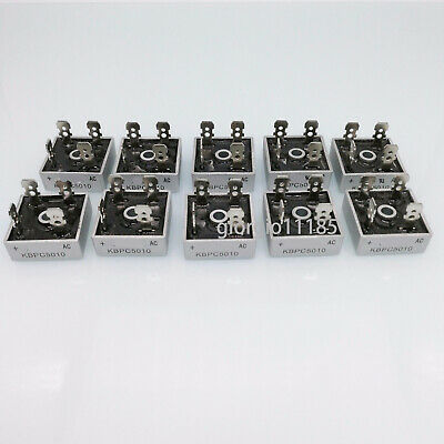 10 pcs KBPC5010 KBPC-5010 50A 1000V Bridge Rectifier