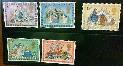 Great Britain 5 MNH stamps