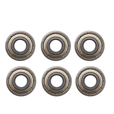 US Stock 6 pcs 6202ZZ 6202Z Deep Groove Ball Bearings 15mm x 35mm x 11mm