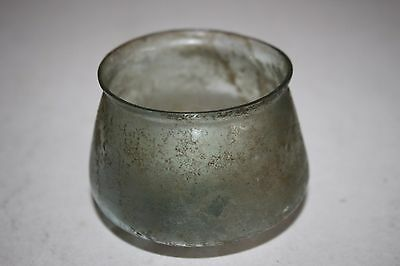 ANCIENT ROMAN GLASS CUP 2/3rd CENTURY AD