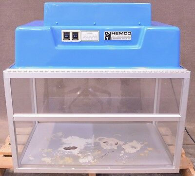 Hemco 13611 Compact Vented Ducted Fume Hood Safety Cabinet