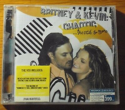 Britney Spears Britney & Kevin Chaotic Orignal Thai Edition 2 VCD + AVCD Seal