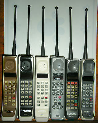 New In Package Motorola Brick Cell Mobile Phone 7 Inch Antenna