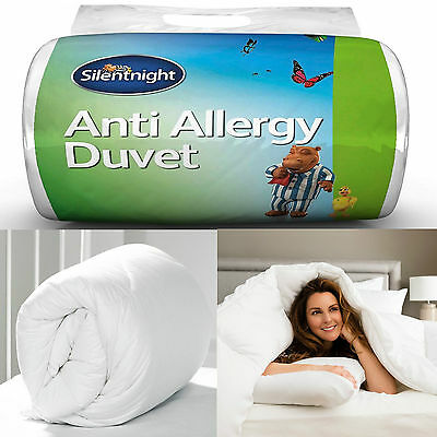 Silentnight Luxury Anti-Allergy Duvet Quilt 7.5 Tog - Spring / Autumn - Single