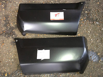 Ford Escort MK3 PAIR of REAR LOWER CORNERS XR3 3i RS turbo RS1600i Corner