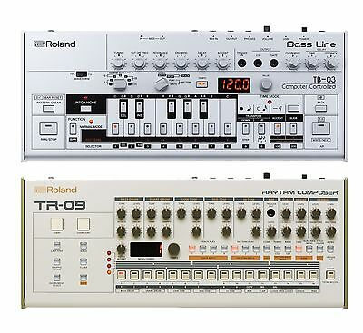Roland Boutique Drum And Bass Synth Collection - TB-03, TR-09