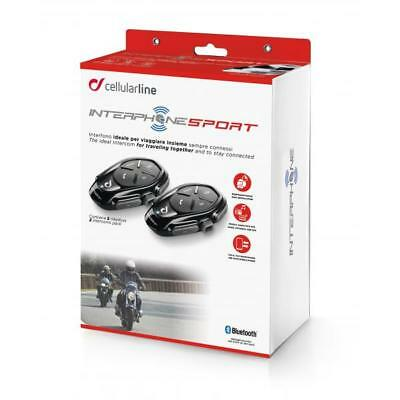 XAU Sport Twin Pack Interphone Cellularline
