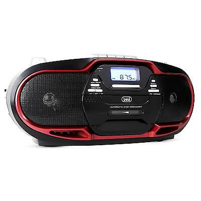 poste mobile bluetooth boombox auna roadie lecteur cd radio fm usb mp3 noir neuf eur 299 95. Black Bedroom Furniture Sets. Home Design Ideas