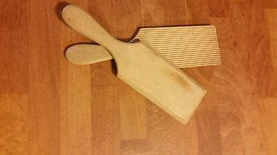 Vintage Pair Traditional Solid Wooden Butter Pats – Dairy – Kitchenalia!
