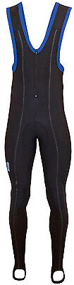Lusso Max Repel Mens Bib Tights With Pad - Black