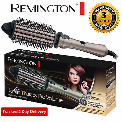 REMINGTON CB65A45 Keratin Therapy Pro Volume Styler Heated Hair Brush